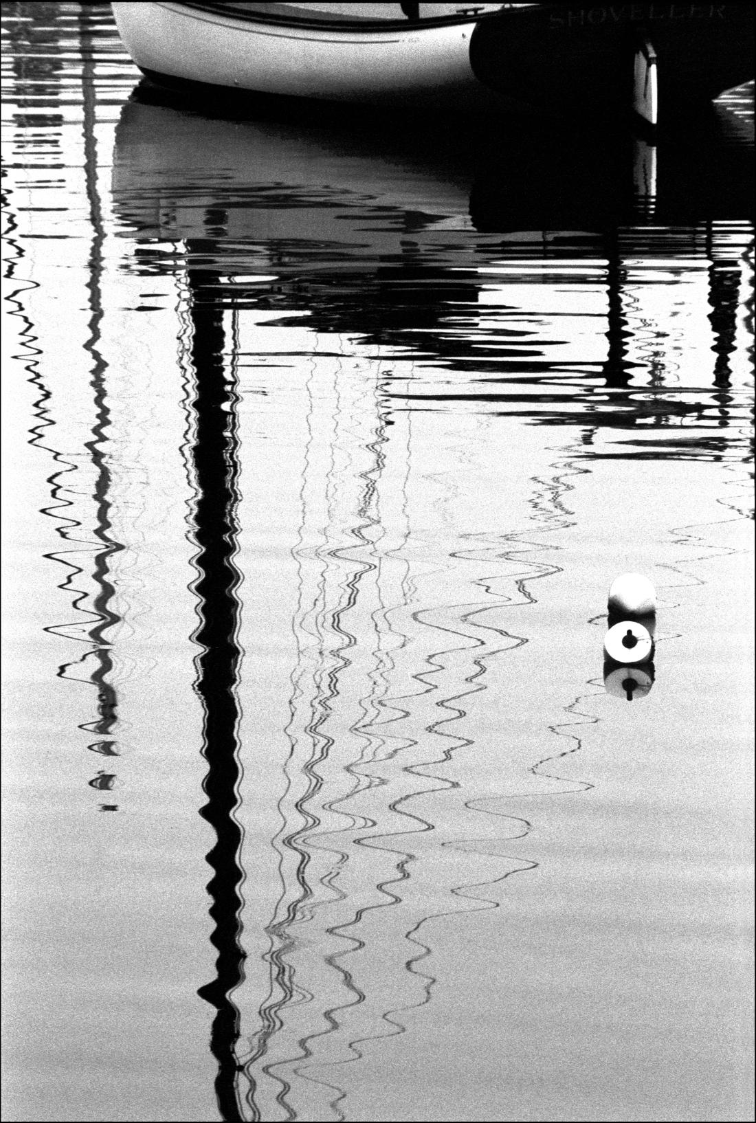 Catboat Reflection