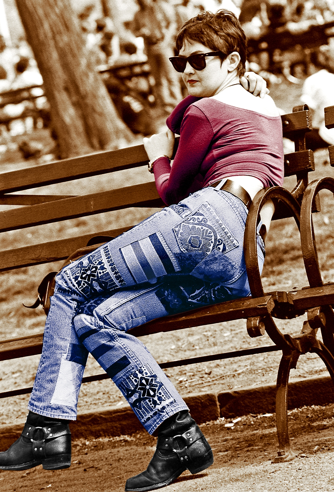 Jeans, Washington Square Park