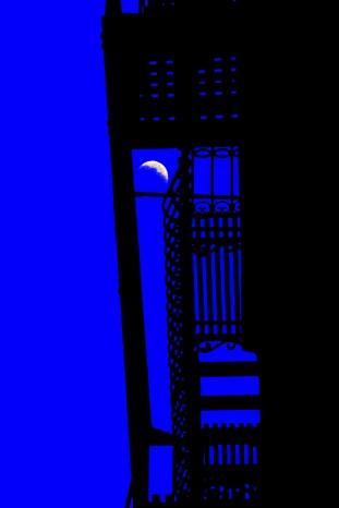 Twilight Sonata in Blue