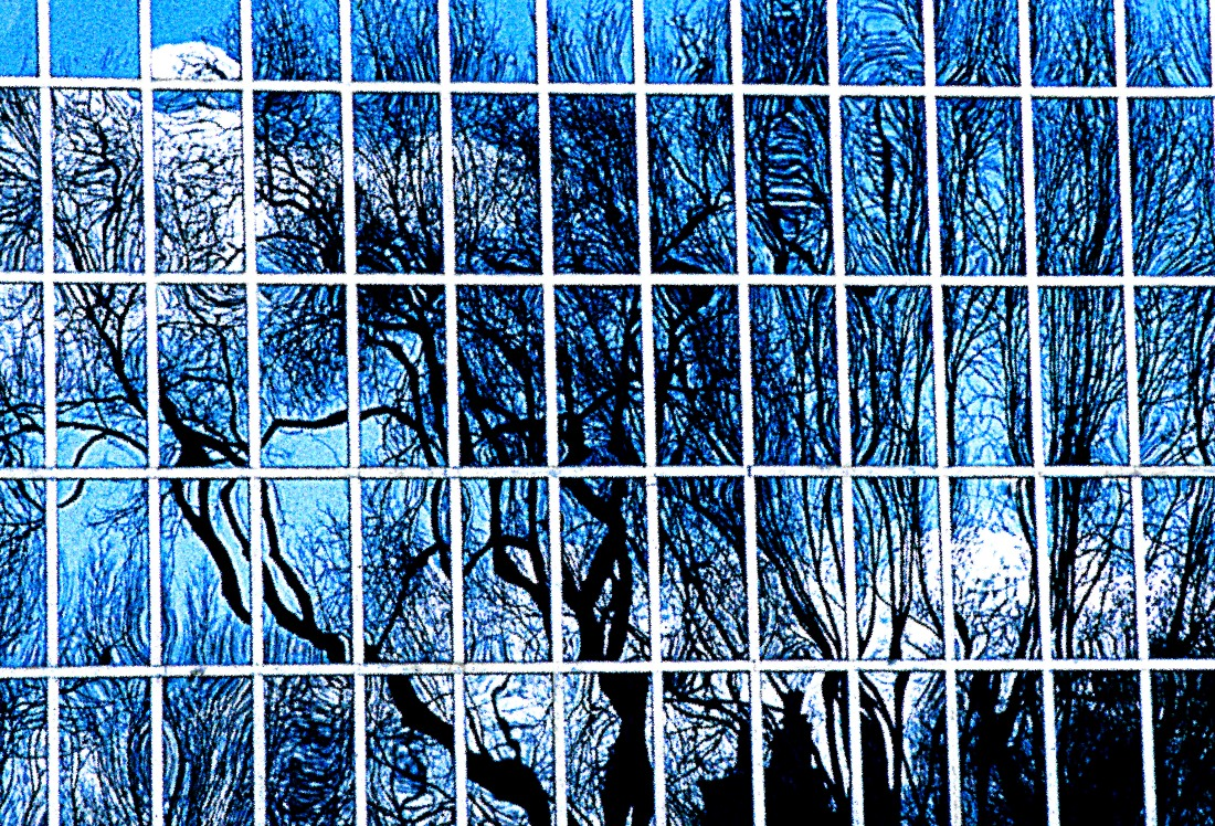 window reflection crop blue new new flat