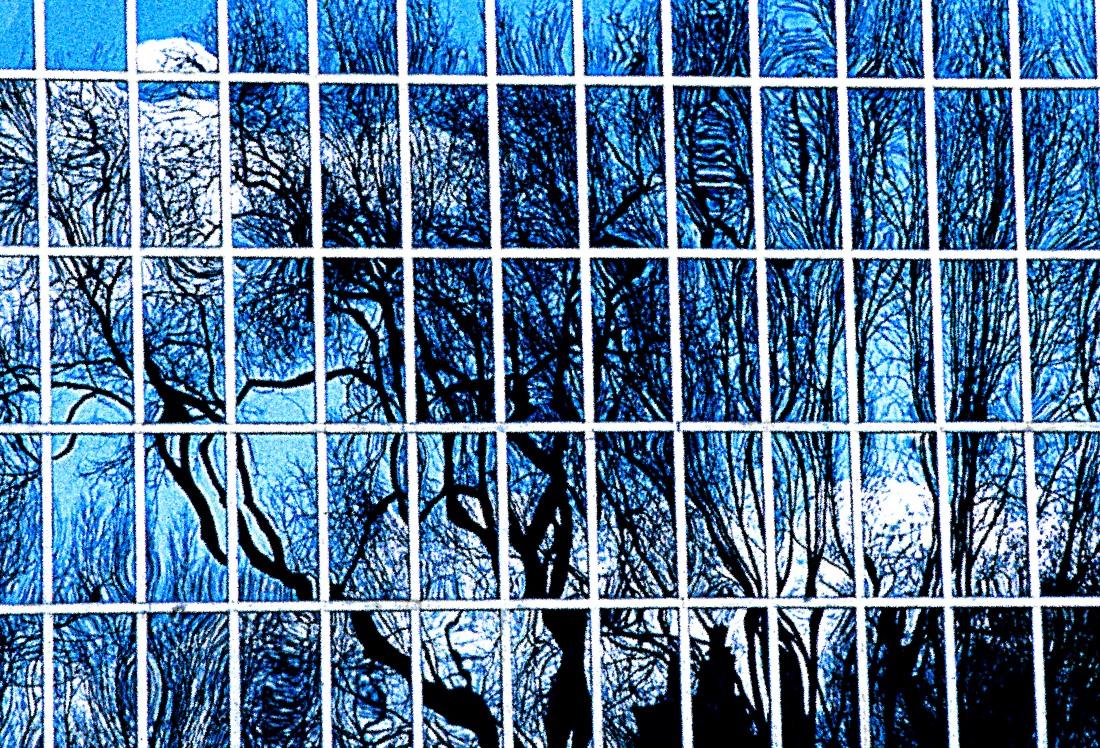 window reflection crop blue new new flat